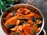 Hähnchen in Knoblauchsoße Rezept