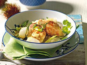 Hähnchen in Rambutan-Curry Rezept