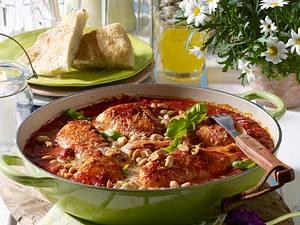 Hähnchen in Tomatensoße Rezept