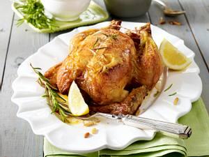 Hähnchen mit zweierlei Couscous (VOX Promi-Dinner Konrad Krauss) Rezept