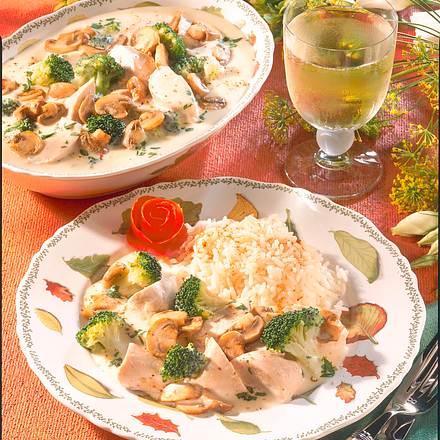 Hähnchen-Ragout mit Broccoli Rezept