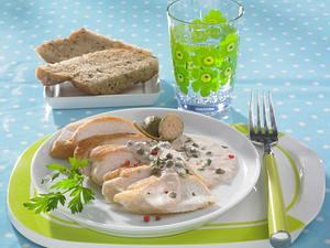 Hähnchen tonnato (Diät) Rezept
