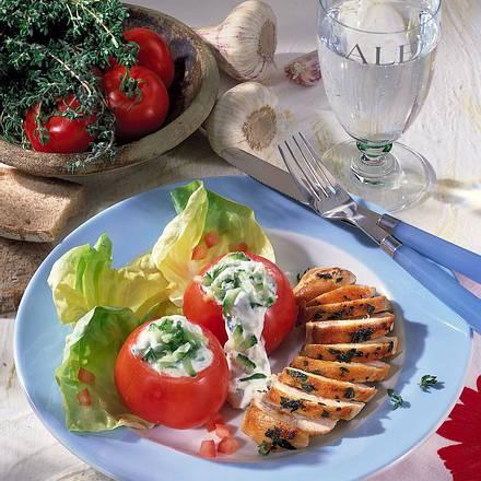 Hähnchen zu Tomaten Rezept