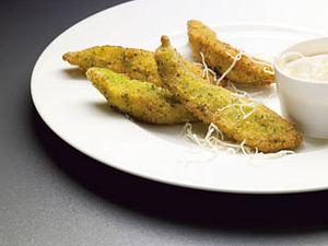 Hähnchenbrust gebacken mit Petersilie und Meerrettich (Alexander Herrmann - Küchen IQ 1) Rezept