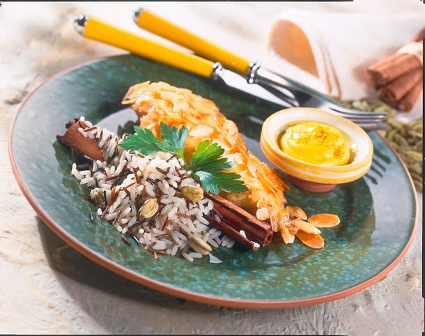 Hähnchenbrustfilet mit Bananen-Curry-Soße Rezept