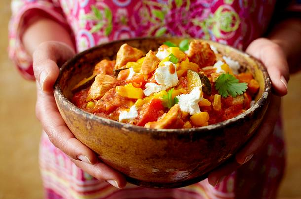 Hähnchencurry mit Mangosambal Rezept