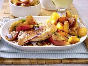 Hähnchenfilet in Apfel-Balsamico-Soße Rezept
