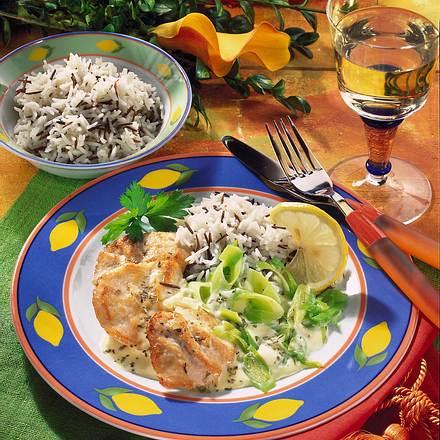 Hähnchenfilet in Zitronensoße Rezept
