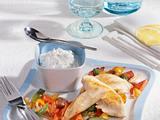 Hähnchenfilet mit Joghurt-Soße und Paprikagemüse Rezept