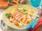 Hähnchenfilet mit Kartoffel-Möhrengemüse (Diabetiker) Rezept