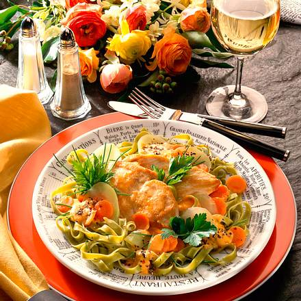 Hähnchenfilet Mit Kohlrabi Möhren Gemüse Rezept Lecker