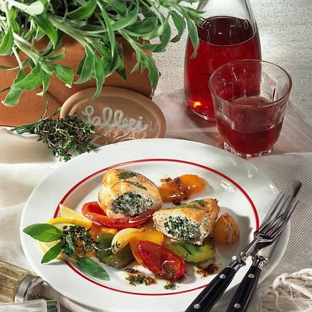 Hähnchenfilet mit Kräutercreme Rezept