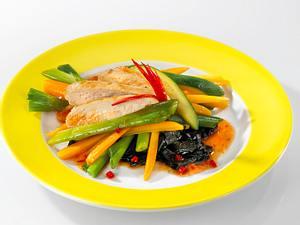 Hähnchenfilet mit Wokgemüse Rezept