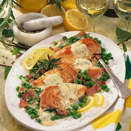 Hähnchenfilet mit Zitronensoße Rezept