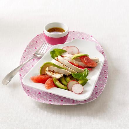 Hähnchenfilet mit Zitrus-Salsa Rezept