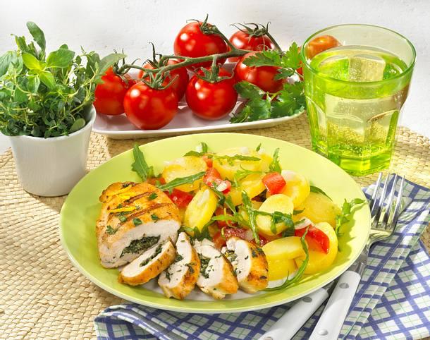 Hähnchenfilets mit Kräutern vom Grill (Diabetiker) Rezept