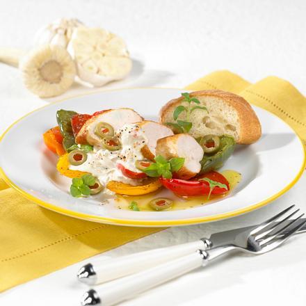 Hähnchenfilets mit Olivensoße Rezept