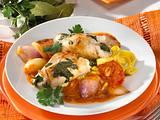 Hähnchenrouladen mit Salsa Verde Rezept