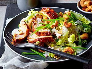 """Hähnchensalat """"India-Express"""" Rezept"""