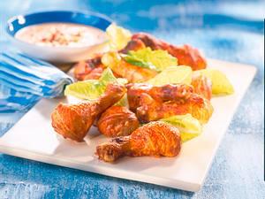 Hähnchenschenkel Tandoori Rezept
