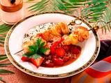 Hähnchenspieße mit Erdbeersoße Rezept