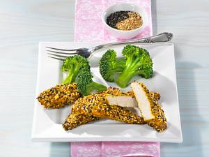Hähnchensticks mit Sesam Rezept