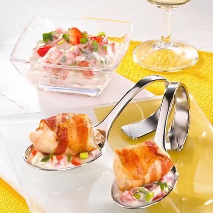 Hähnchenwürfel mit Tomaten-Joghurtsoße Rezept
