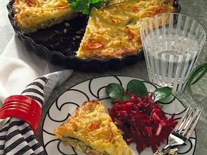 Hafer-Kartoffel-Auflauf mit Rote-Bete-Salat Rezept