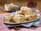 Haferflocken-Apfelblechkuchen mit Baiser Rezept