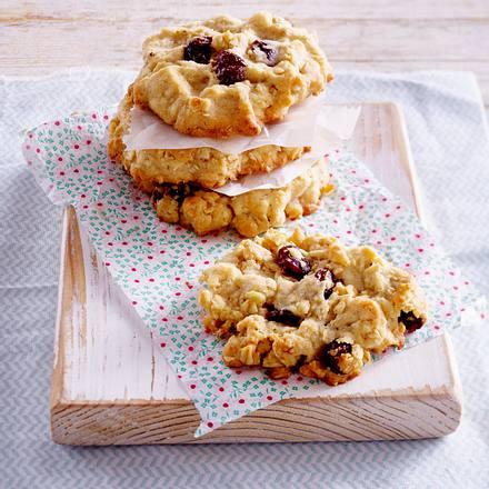 Haferflocken-Cranberry-Cookies Rezept