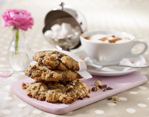 Haferflocken-Schoko-Cookies Rezept