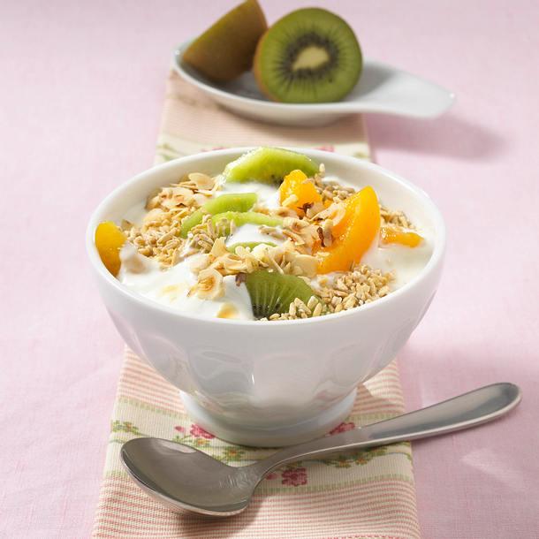 Hafermüsli mit Obst (Diät) Rezept