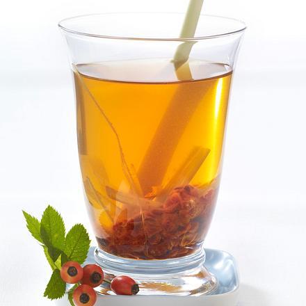 Hagebutte-Zitronengras-Tee (Schlank-Tee) Rezept