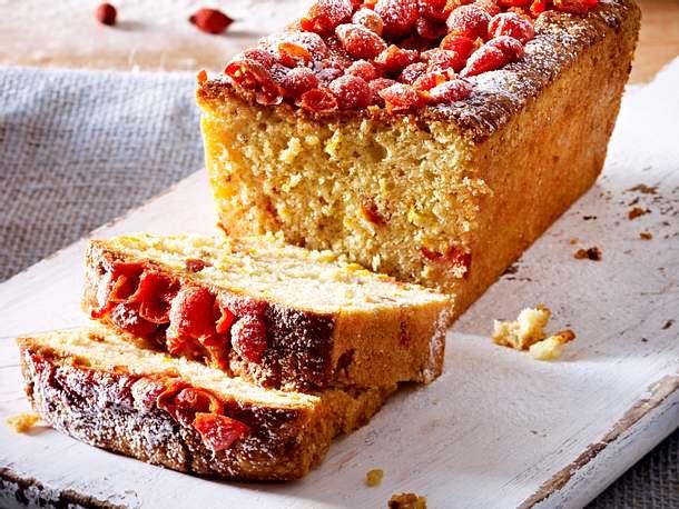 Hagebutten-Kardamom-Kuchen Rezept