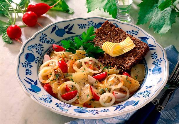 Harzer Käse Salat Rezept