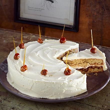 Haselnuss-Kaffee-Torte Rezept