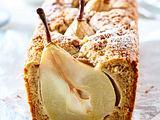 Haselnusskuchen mit Birnen-Kern Rezept