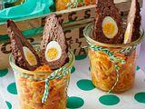 Hasenohren auf Farmersalat Rezept