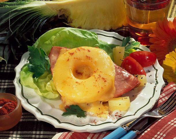 Hawaii Toast (Ananas-Diät) Rezept