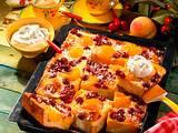 Hefe-Obstkuchen mit Schmandguss Rezept