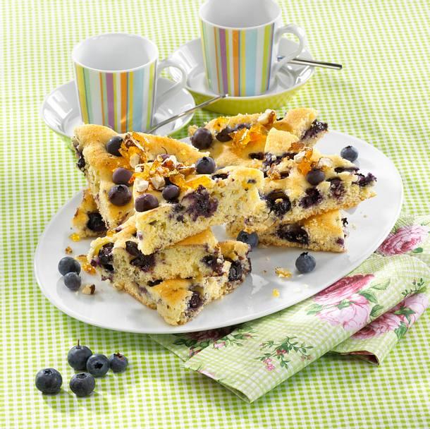 Heidelbeer-Blechkuchen Rezept