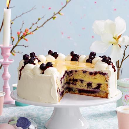 Heidelbeer-Eierlikör-Torte Rezept