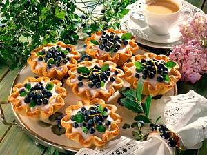 Heidelbeer-Joghurt-Törtchen (Diabetiker) Rezept