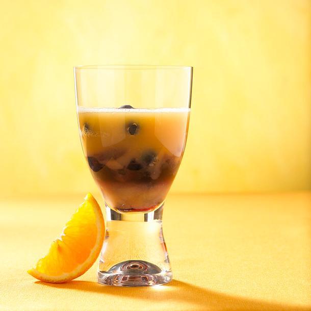 Heidelbeer-Melonen-Drink Rezept