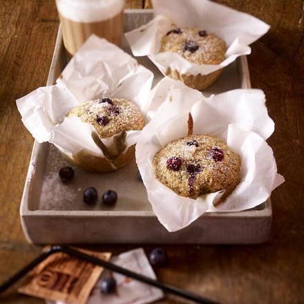 Heidelbeer-Mohn-Muffins Rezept