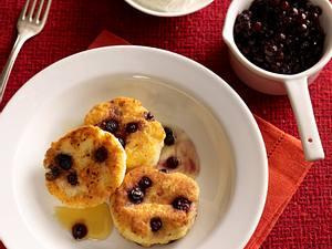 Heidelbeer-Quark-Küchlein mit Ahornsirup Rezept