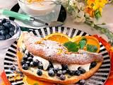 Heidelbeer-Schaumomelett Rezept