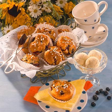 heidelbeer joghurt muffins rezept. Black Bedroom Furniture Sets. Home Design Ideas