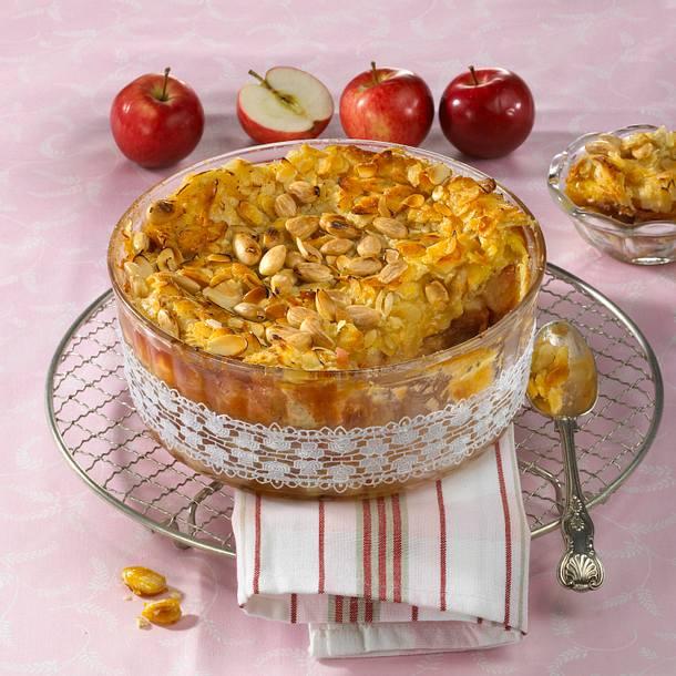 Heiße Apfelritter aus dem Ofen Rezept