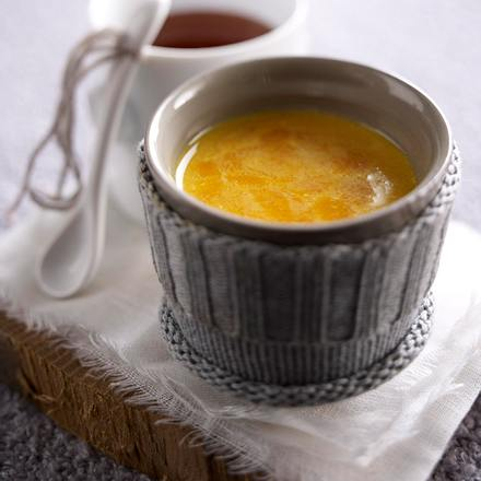 Heiße Sanddornmilch mit Sahne Rezept